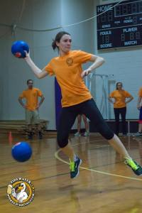 Rahhhhh - Dodgeball is a great place to let off some steam