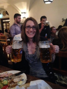 Hofbrauhaus in Munich. Mmmm Beer!