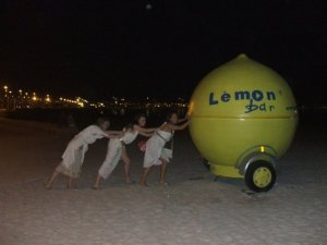 When life gives you lemons - get a little help from your friends