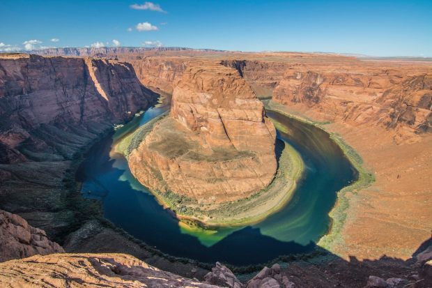 Horse Shoe Bend in all its glorious colours