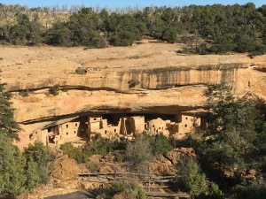 Cliff Dwellings at Mesa Verde