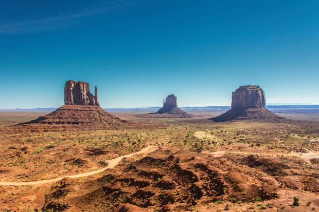 Monument valley - everything image you had of a wild western was shaped by this landscape